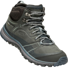 Keen Terradora Leather WP Mid Shoes Women, tarragon/turbulence